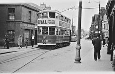 Top of Howth tram, Ireland Old Photos, Vintage Photos, 1940s, Main Street, Street View, Ireland Homes, Photo Engraving, Irish Eyes, Old Video