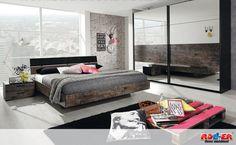 Schlafzimmer BURANO Weiß/brombeer | Future Homes/furniture | Pinterest