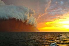 'Red Wave' Dust Storm Pounds Australia