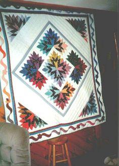 Cleopatra's Fan quilt.