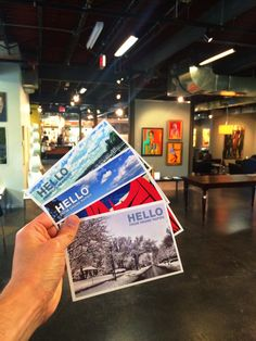 We just added some more Hello From Grand Rapids postcards to LaFontsee Galleries.