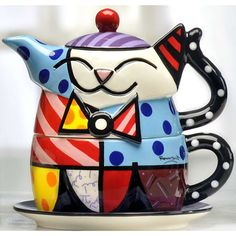 Cat Teapot & Cup Set