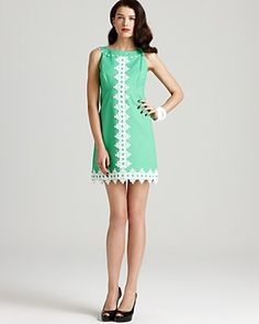 Reminds me of the fifties and for the first time I want a Lilly Pulitzer dress. PUKE. But still, I love it.