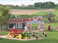 Spring & Summer Attractions Barnyard Adventure Opening May 9th! Open Fri-Sun 10-6pm. Discover the fun of the Farm in our 7-acre adventure farm! Meet ou