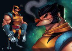 Wolverine Unmasked by *Zatransis