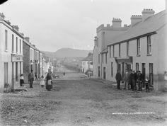 Main Street, Waterville, ca. 1900 #Irish History