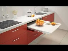 COCKTAIL Pull Out Table / Worktop | BPF - YouTube