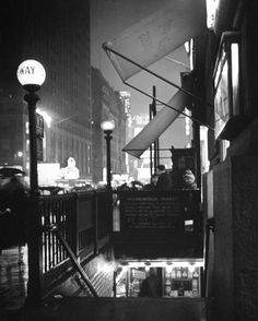 Times Square Subway Entrance - 1942