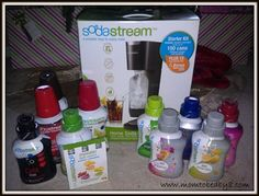 Green is good and great tasting too! Fountain Jet Soda Lover's Start-Up Kit  http://life-unexpectedhappiness.blogspot.com/2012/06/soda-stream-giveaway-us.html