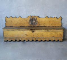 Late 17th c.Early 18th c. Italian Bench