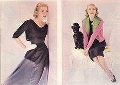 Grace and Family via graceayrton:  Woman's Home CompanionApril 1955-Grace Kelly