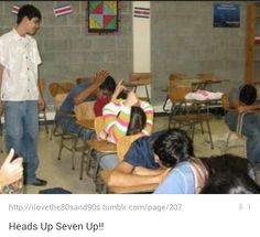Heads up seven up
