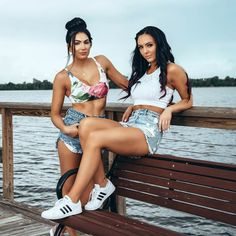 ❤You can look, but you can't touch❤, radiationdude: Billie Kay & Peyton Royce Wrestling Divas, Women's Wrestling, Wwe Raw And Smackdown, Wrestlemania 29, Peyton Royce, Wwe Girls, Charlotte Flair, Wwe Womens, Female Wrestlers