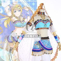 LoveLive-Love-Live-Ayase-Eli-Dancing-Diva-Uniform-Dress-Outfit-Cosplay-Costumes