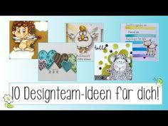 10 Ideen #6 I Ideen mit Stempel und Stanzen - YouTube Cover, Books, Youtube, Art, Die Cutting, Stamps, Ideas, Art Background, Libros