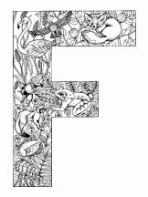 alphabet animal f