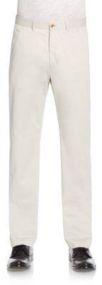 Robert Graham Jet Setter Straight-Leg Pants