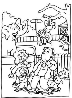 Zoo Coloring Pages Free Printable - Enjoy Coloring | Animals ...