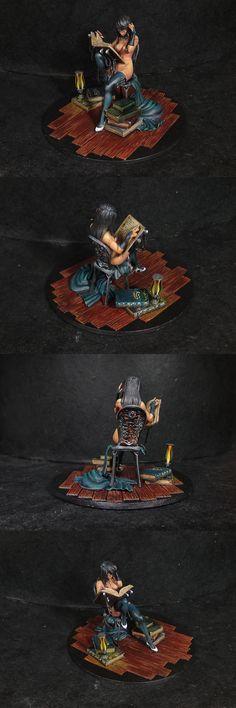 Figure Model Painted