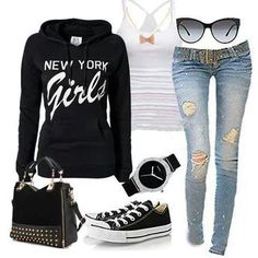 converse outfit !