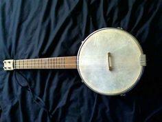 Make a crazy affordable bite-size banjo if you're feeling folksy. 12 Sweet DIY Instruments For Cash-Strapped Musicians Homemade Musical Instruments, Making Musical Instruments, Ukulele Instrument, Ukulele Accessories, Banjo Ukulele, Cigar Box Guitar, Music Stuff, Musicals, Banjos