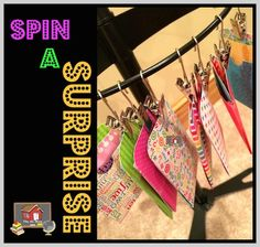 Spin a Surprise {Classroom Management}