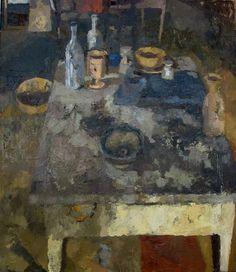Lucy MacGillis. La Ciotolina. 28×24. oil on canvas. 2008.