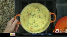 Hash Brown Potato Chowder with Vegetables Friday, December 11, 2015
