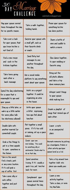 30 Day Marriage Challenge (scheduled via http://www.tailwindapp.com?utm_source=pinterest&utm_medium=twpin&utm_content=post134946443&utm_campaign=scheduler_attribution)