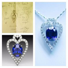 From idea to reality we can make all your dreams come true!  #custom #necklace #buckscountyjeweler #Doylestown