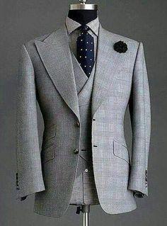 men's suits – High Fashion For Men Dress Suits For Men, Men Dress, Suit And Tie, Mens Fashion Suits, Mens Suits, Blazer Outfits Men, Mode Costume, Designer Suits For Men, Bespoke Suit