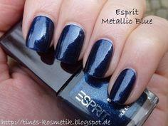 Esprit Metallic Blue 1