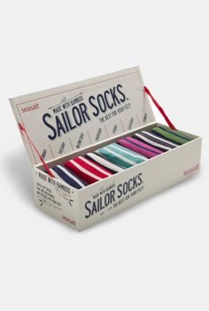 sailor socks.