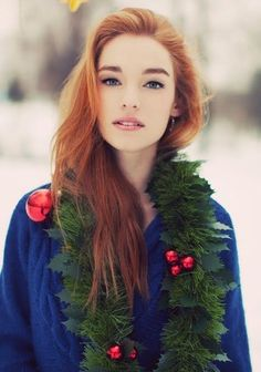 Natural looking #MakeUp for #Redheads