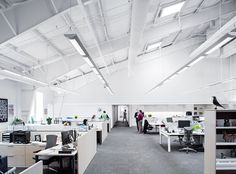 Herman Miller Design Yard - The Executive Leadership Team's space is like a working neighborhood, where close proximity drives collaboration and decision-making.