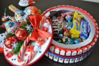 Gallery.ru / Торт из киндер шоколадок новогодний - Новый год - monier