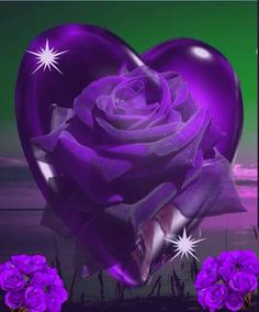 :) Purple Art, Purple Love, Purple Hues, All Things Purple, Shades Of Purple, Deep Purple, Purple Flowers, Purple Stuff, Heart Wallpaper