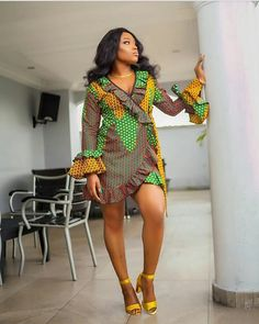Looking for the best kitenge designs in Africa? See images of kitenge dresses and skirts, African outfits for couples, men's and baby boy ankara styles. African Dresses For Women, African Fashion Dresses, African Attire, African Wear, Party Dresses For Women, African Women, African Style, African Beauty, Summer Dresses
