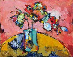 "Saatchi Art Artist Giorgos Achilleos; Drawing, ""Flowers 3"" #art"