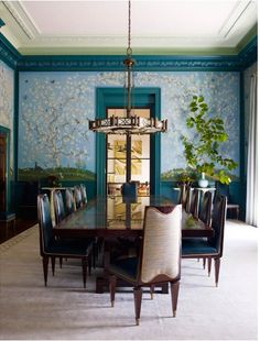 Dining  Contemporary  Transitional by Steven Gambrel