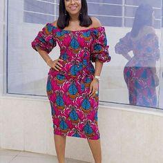 Zaineey's Blog : Simple Cute Ankara Short Gowns for Nigerian Ladies...