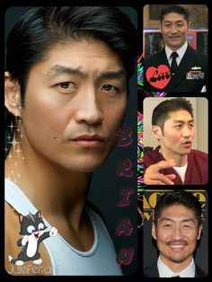 Born:15th March 1977 ~ Brian Tee plays Dr Ethan Choi....Kindly done by Julie Felton1. Please visit her boards they are **FANTASTIC**