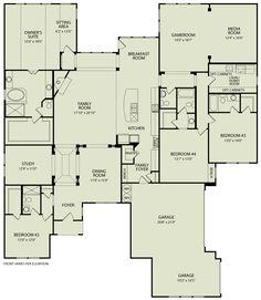 LAUREN III, 125 | Drees Homes Interactive Floor Plans | Custom Homes without the Custom Price