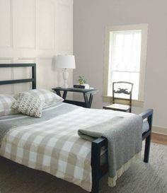 Wählen Sie Eine Ruhige Und Ruhige Graue Farbe Für Schlafzimmer
