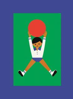 Fredun Shapur : Playing With Kids. Giocare a palla.