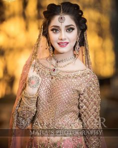 New Sensation latest bridal photoshoot ✨❤ Bridal Makeup Looks, Bridal Beauty, Bridal Looks, Bridal Style, Pakistani Bridal Makeup, Indian Bridal Fashion, Pakistani Wedding Outfits, Pakistani Wedding Dresses, Bridal Photoshoot