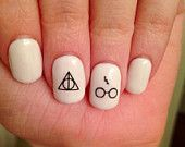 easy harry potter nails - Google Search