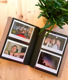 Instax Wide album - perfect for storing all you Instax Wide or Polaroid photos! - Holds 32 photos. - Album Size: 20.5 cm x 17 cm - Picture size: 8.6 cm x 10.8 cm - It can also fit Polaroid 600 sized photos. - Available in light brown and dark brown colors.   📸 Buy 60 or more sheets of Instax Wide film and get this Instax Wide album for FREE - http://etsy.me/2i684zX 📸  _____  Temporary Light brown album colour option is out of stock.