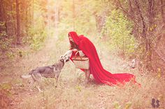 Little Red Ridding Hood and the Wolf