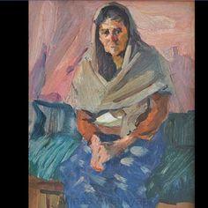 Minas Avetisyan -1957 - MY GRANDMOTHER.  Մինաս Ավետիսյան - 1957 -ՄԵԾ ՄԱՅՐՍ